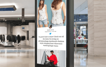 Fashion Retail Store Digital Signage